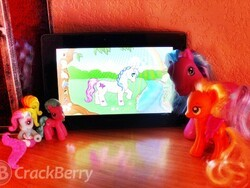 My Sweet Little Pony offers a cute dress-up game for horse crazy little girls