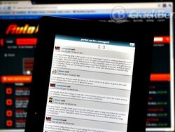Auto Forum for the BlackBerry Playbook puts you under the hood