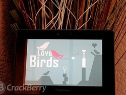 Not all birds are angry: Love Birds for the BlackBerry PlayBook