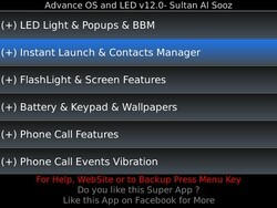 Advance OS and LED updated to v.12.0.3: now includes everything but the kitchen sink