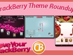 BlackBerry theme roundup – Valentine's Day edition! Win a free copy of Aqua Text Pink Edition by Simple Design!