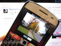 Give your photos a touch of color with Black and Color Pictures for BlackBerry smartphones