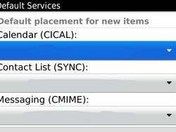 Quick Tip: How to change the default email and calendar on your BlackBerry