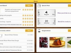 Cooklet - An inspiring culinary organizer for the BlackBerry PlayBook
