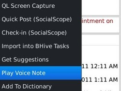 Add voice notes to your task and calendar entries with iVoiceNote for BlackBerry smartphones