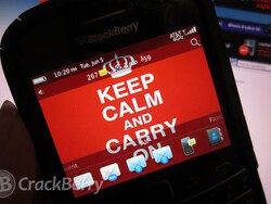 Keep Calm and Carry on with a new BlackBerry theme from MMMOOO
