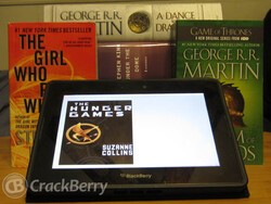 Best applications for using your BlackBerry PlayBook as an eReader!