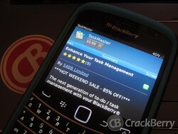 TaskMaster for BlackBerry smartphones on sale this weekend only for 85% off