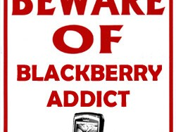 Beware the BlackBerry Addict in the Office?!