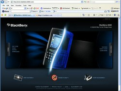 RIM Officially Launches BlackBerry 8800