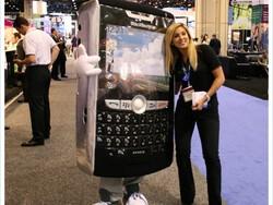 The BlackBerry Mascot