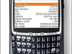 Finding your PIN, IMEI, Free memory, OS Version on a BlackBerry