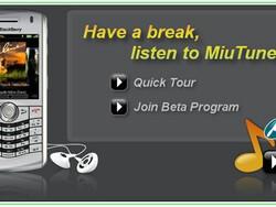 MiuTunes Opens BlackBerry Music Player Beta!