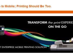 Register Now: HP & RIM Webinar on mobile printing solutions for the BlackBerry