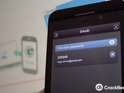How to use Google two-step authentication on BlackBerry 10