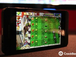 Plants Vs Zombies creeps its way onto the BlackBerry Z10