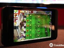 Plants Vs Zombies creeps its way onto the BlackBerry Z10