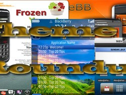 BlackBerry theme roundup for July 12th, 2010 - 50 copies of Frozen Yogurt to be won!