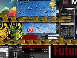 BlackBerry theme roundup for July 26th, 2010 - 25 copies of !Futurism to be won!