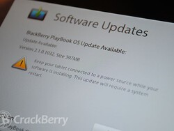 BlackBerry PlayBook OS v2.1.0.1032 now available for download