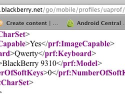 BlackBerry Curve 9310 appears via UAProf documents, looks to be headed to Verizon