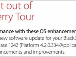Verizon prepping OS 5.0.0.732 update for the BlackBerry Tour 9630 as well?