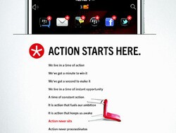 BlackBerry India advertising campaign calls for action in a very good way!