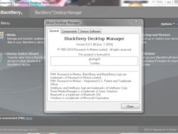 Leaked: BlackBerry Desktop Manager 5.0.1.40