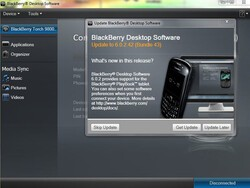BlackBerry Desktop Manager for Windows and Mac updated
