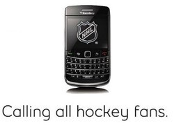 Bell Offers Up Stanley Cup Action To Its BlackBerry Users