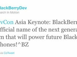 BlackBerry 10 the new official name of the next generation platform for BlackBerry devices