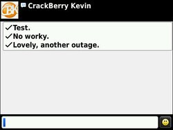 BBM and emails moving slow, another outage looming? [updated]