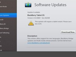 BlackBerry PlayBook OS 2.0 developer beta updated to v2.0.0.4869