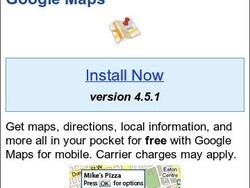 Google Maps for BlackBerry v4.5.1 released