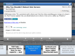 GeeReader - A free Google reader client coming to the BlackBerry PlayBook