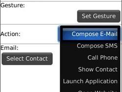 GesturePad - Add efficiency to your touchscreen BlackBerry!