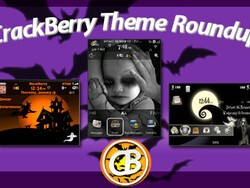 BlackBerry theme roundup for October 18, 2010 - Halloween Edition!