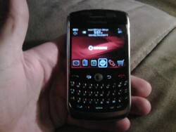 Official OS 5.0.0.1036 for the BlackBerry Curve 8900 from Vodafone DE