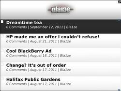 JoeMobi allows WordPress blog owners to create a customized BlackBerry app