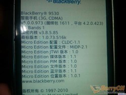 Leaked OS: 5.0.0.973 for the BlackBerry Storm 9530
