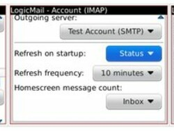 LogicMail 2.1 beta released - New features and support for BlackBerry 7 added