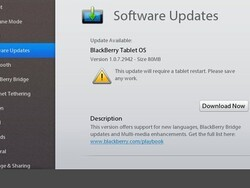 BlackBerry Playbook OS updated to v1.0.7.2942