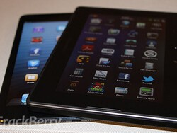 Hands-on with the BlackBerry PlayBook and the iPad mini tablets