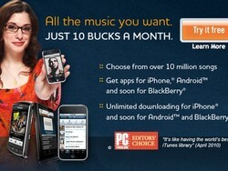 Rhapsody for BlackBerry beta - Get yourself a free 7 day trial