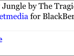 BB Tweet Media Player Beta - Share what you're listening to on Twitter
