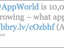 BlackBerry App World surpasses 10,000 apps as we head into DevCon