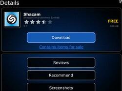 Shazam for BlackBerry updated to v2.7