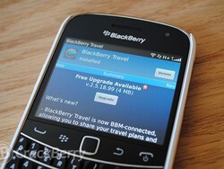 BlackBerry Travel updated to v2.5.18.99, makes it a BBM Connected app for sharing