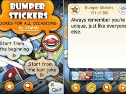 Jokes for All Occasions - Four free BlackBerry apps from XIMAD to make you laugh
