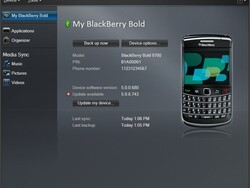 BlackBerry Desktop Manager 6 to be released on August 10th?